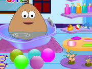 game Baby Pou Bathing