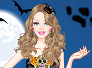 game Barbie Halloween Dress Up