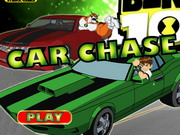 game Ben 10 Car Chase