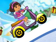game Dora Winter Ride