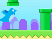 game Flappy Blue Bird