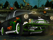 game Halloween Graveyard Racing