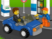 game Lego Gas Station