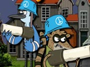 game Regular Show Military Zone