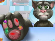 game Talking Tom Foot Doctor