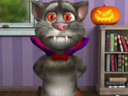 game Talking Tom Halloween