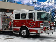 game Winter Firefighters Truck